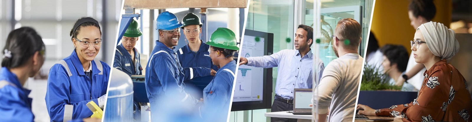 Schlumberger Employees from Around the World